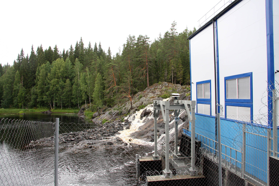 July 18, 2013. Ruskeala. Ryymäkoski. Power Station