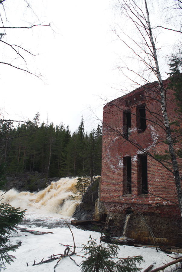 May 6, 2012. Ruskeala. Ryymäkoski. Power Station