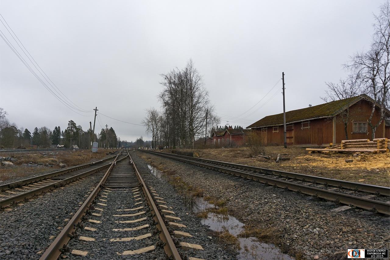 2. toukokuuta 2015. Kaalamon rautatieasema