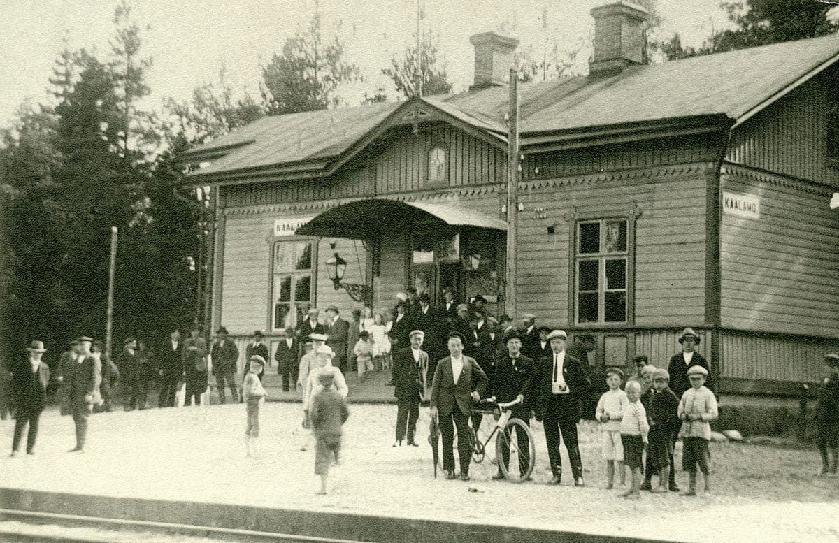 1930 год. Станция Кааламо
