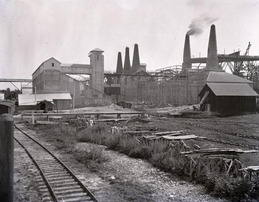 1930-luvun. Ruskeala. Marmoritehdas