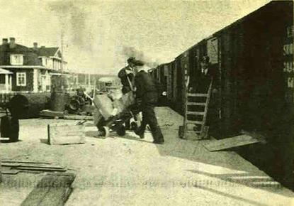 1937 год. Станция Маткаселькя