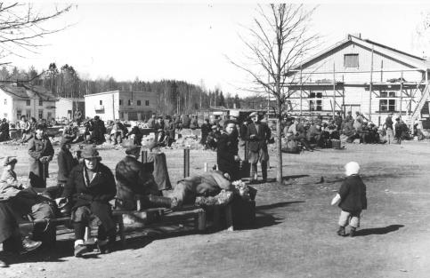 1941 год. Станция Маткаселькя
