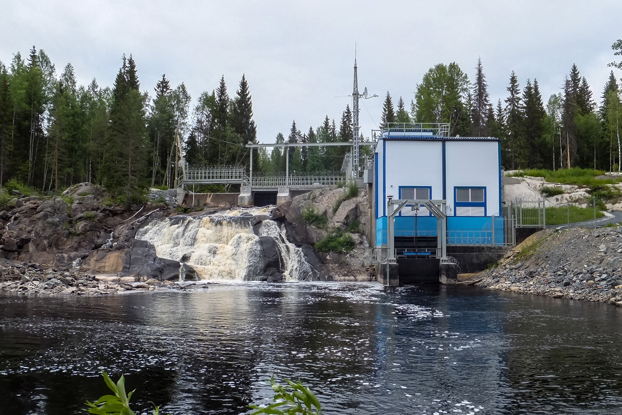 June 2014. Ruskeala. Ryymäkoski. Power Station