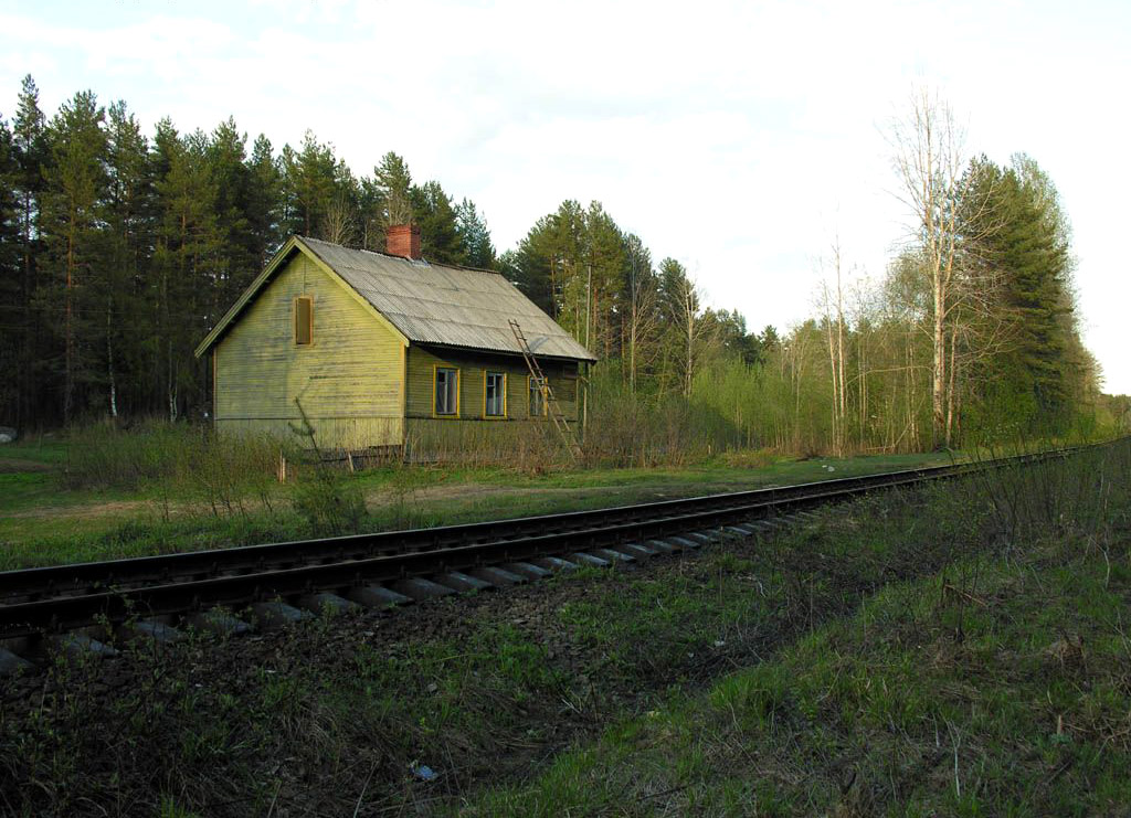 May 22, 2006. Alalampi railway station