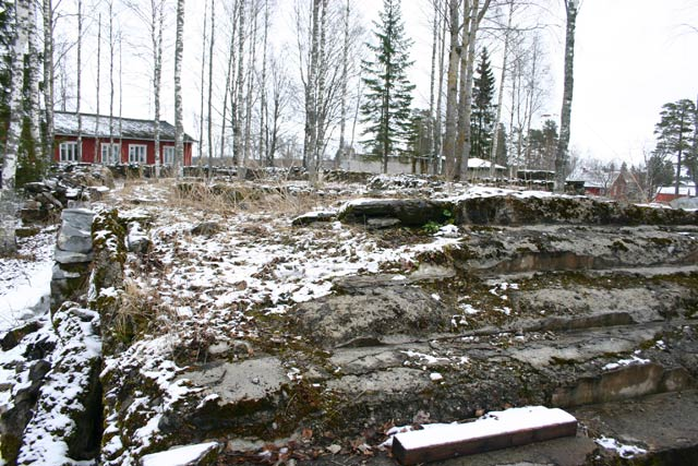 2000's. Ruins of the Ruskeala church