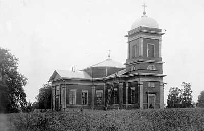 1920's. Ruskeala church