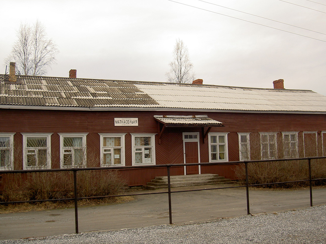 April 17, 2007. Matkaselkä railway station