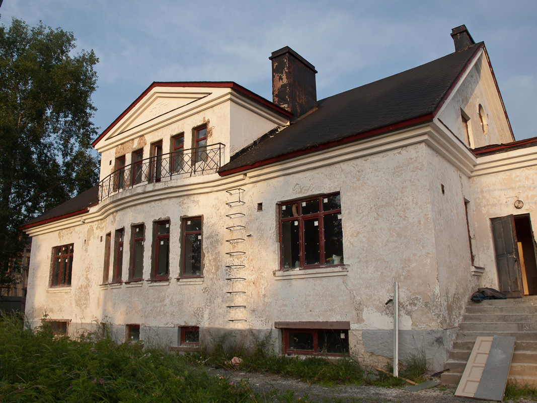July 23, 2011. Ruskeala. Former parsonage