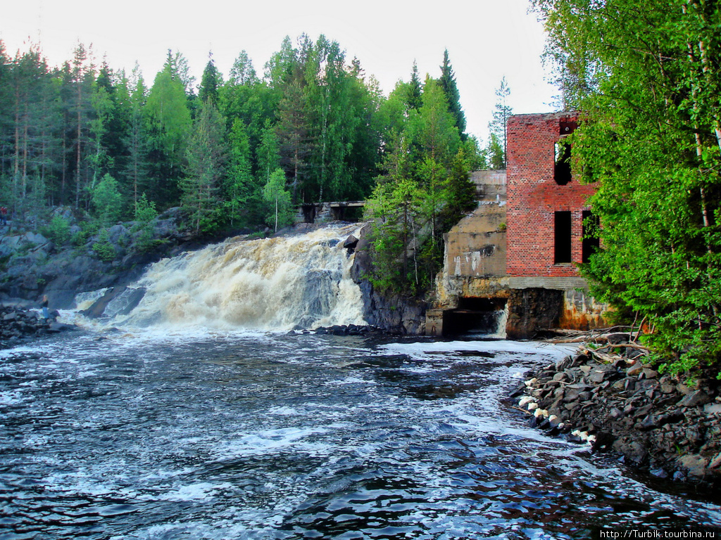 2009. Ruskeala. Ryymäkoski. Power Station