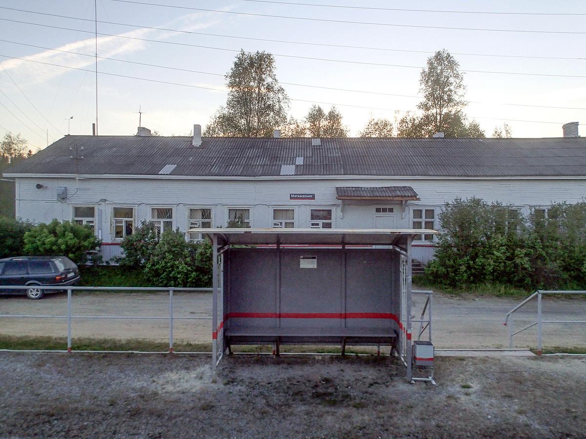 June 16, 2017. Matkaselkä railway station