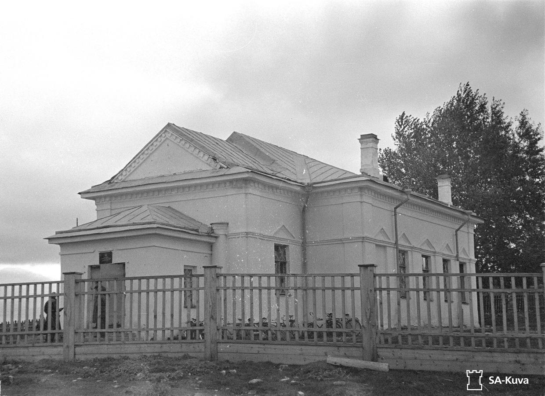 7. lokakuuta 1941. Solomanni. Entinen toinen kirkko