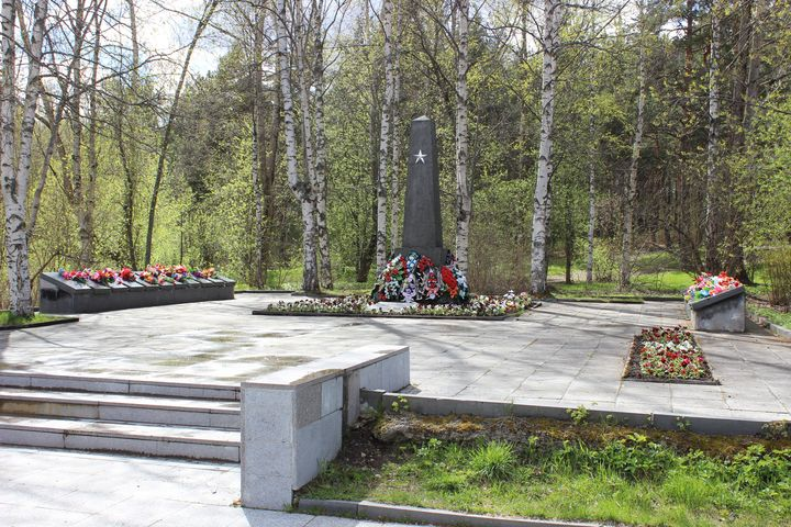 Early 2010's. Solomennoye. Memorial to the Soviet soldiers
