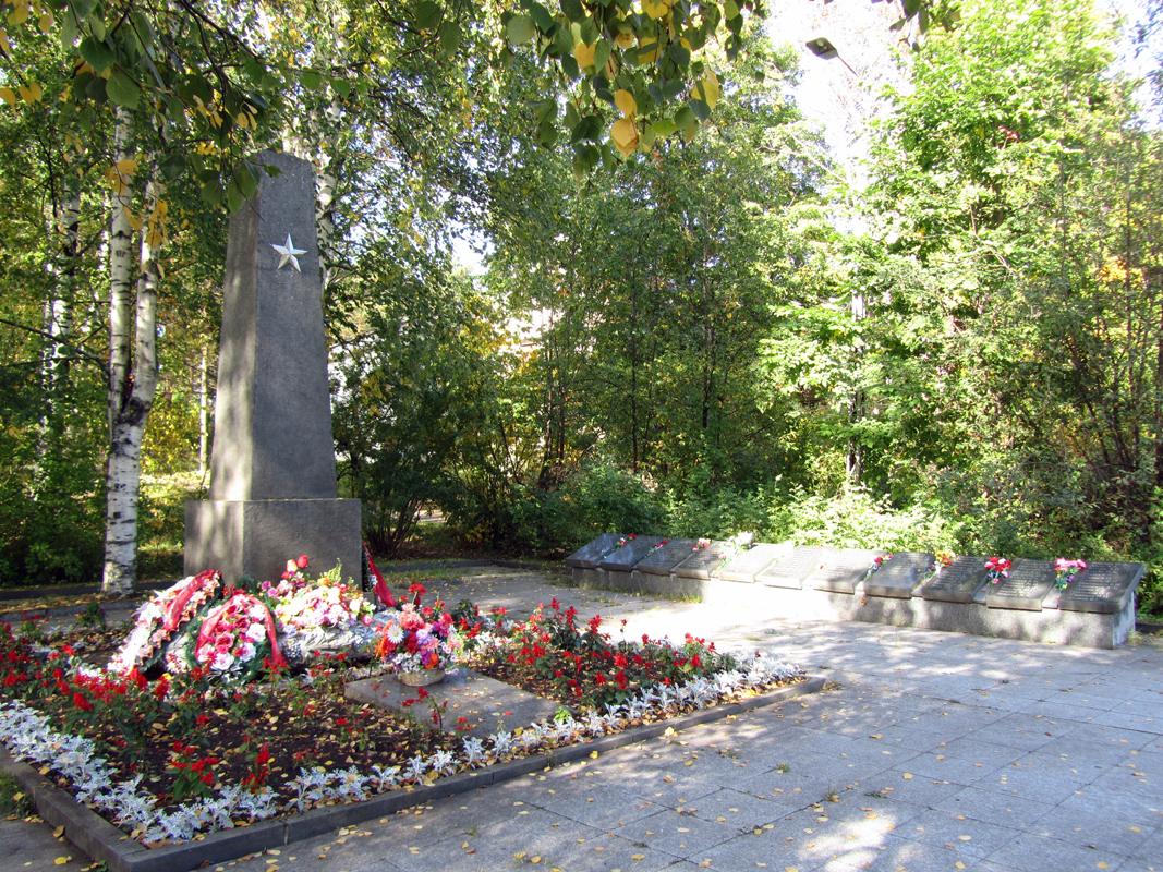 September 8, 2013. Solomennoye. Memorial to the Soviet soldiers