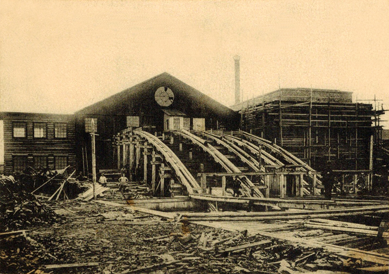 1930's. Solomennoye. Sawmill