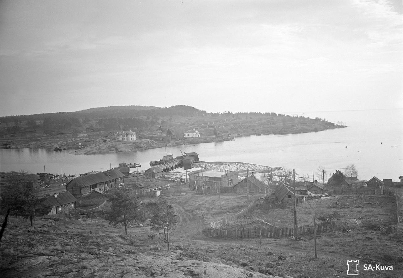 Early 1940's. Solomennoye