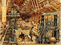 Середина 1930-х годов. Лесопильный завод