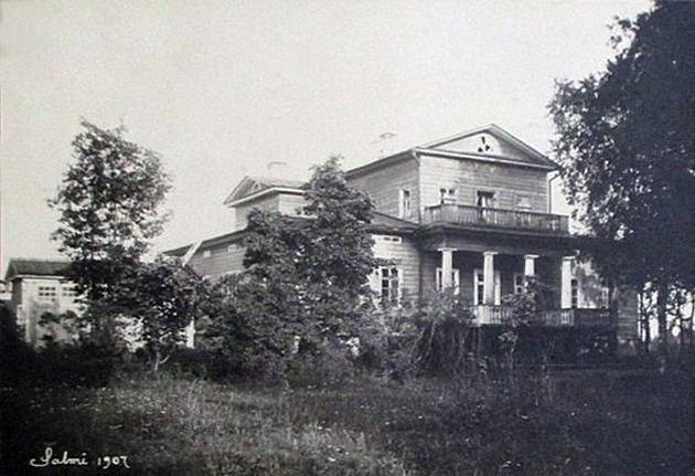 1907 год. Усадьба Тулема