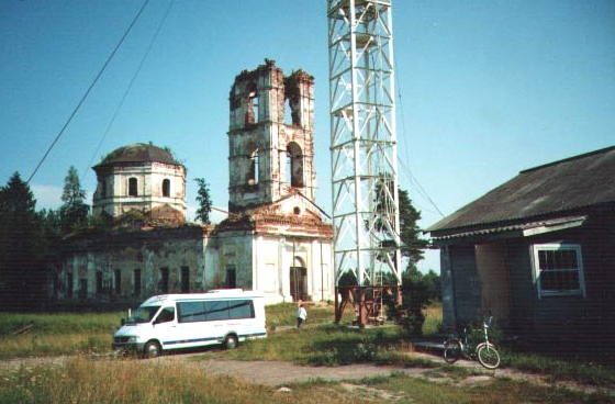 2001. Ruins of the orthodox church