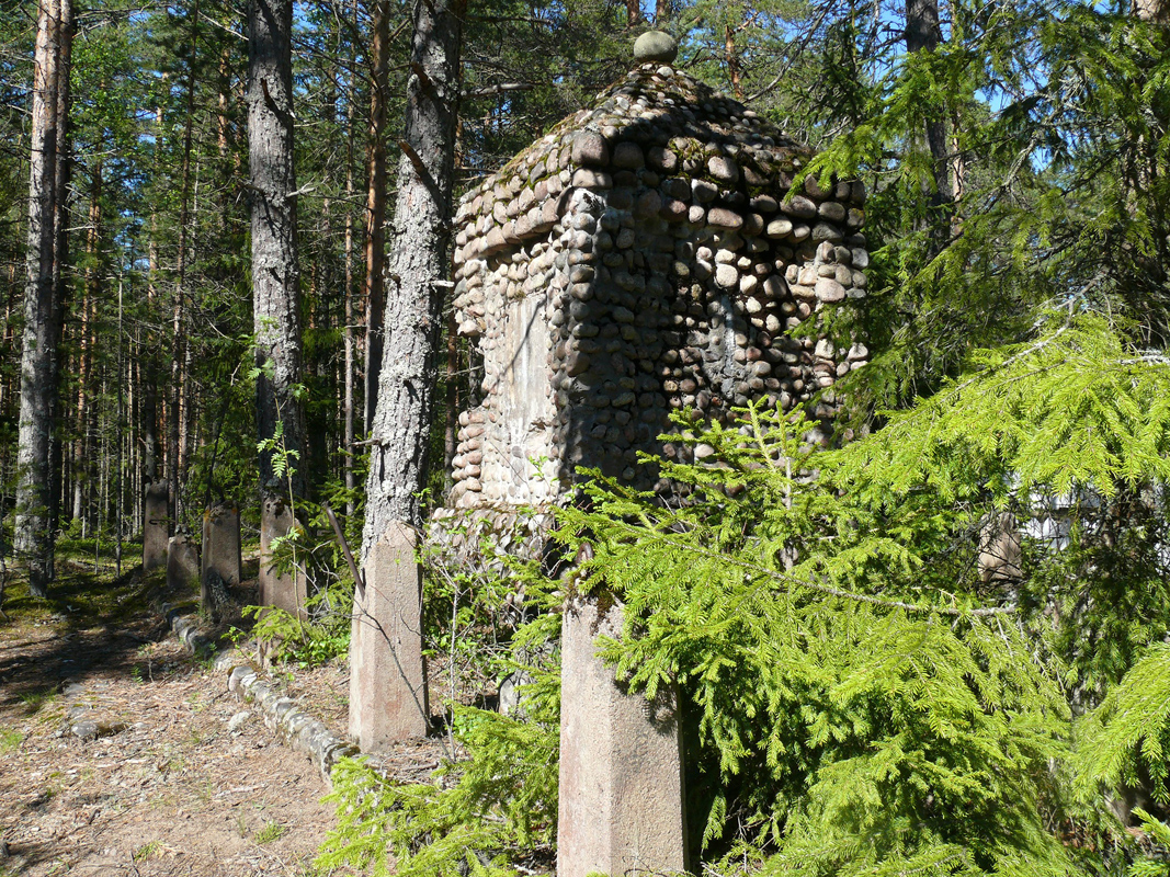May 29, 2015. Ylä-Uuksu. Monument to the Fallen in Aunus expedition
