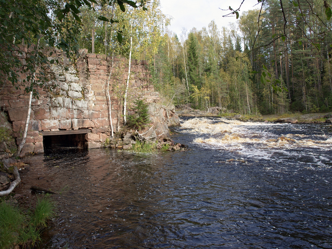 September 20, 2009. Kivenkulmankoski hydroelectric power plant
