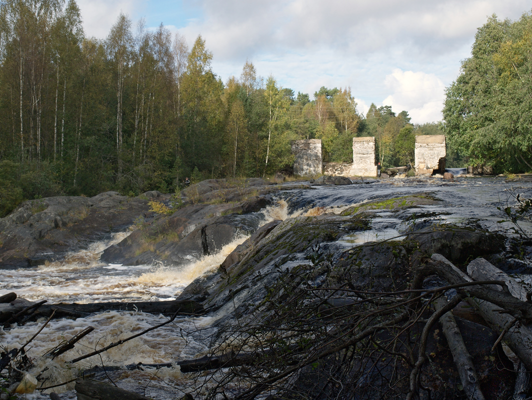 September 20, 2009. Ylä-Uuksunkoski hydroelectric power plant