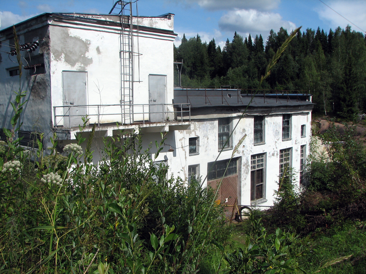 August 2, 2009. Pieni-Joki hydroelectric power plant