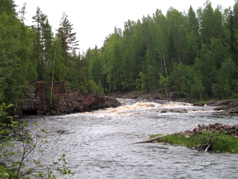 June 2007. Kivenkulmankoski hydroelectric power plant