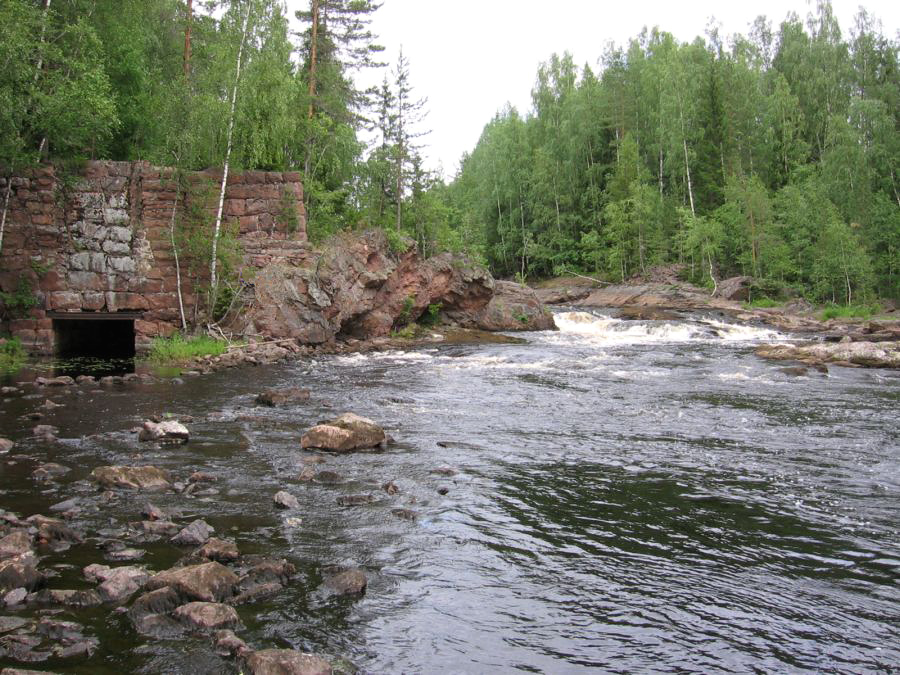 July 16, 2006. Kivenkulmankoski hydroelectric power plant