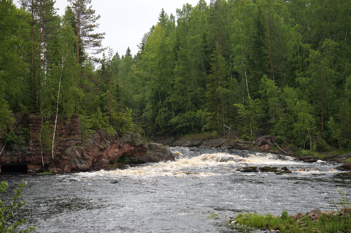 June 22, 2015. Kivenkulmankoski hydroelectric power plant