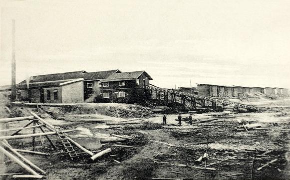 1900-е годы. Котканиеми. Лесопилка