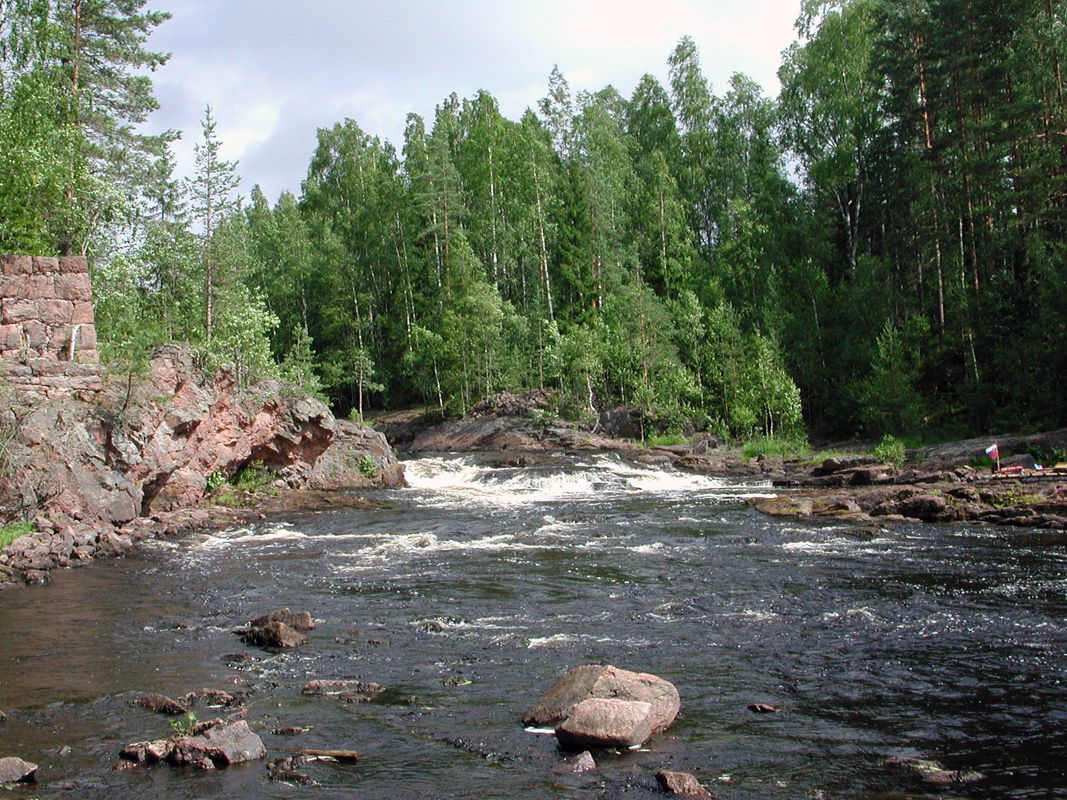 July 27, 2002. Kivenkulmankoski hydroelectric power plant