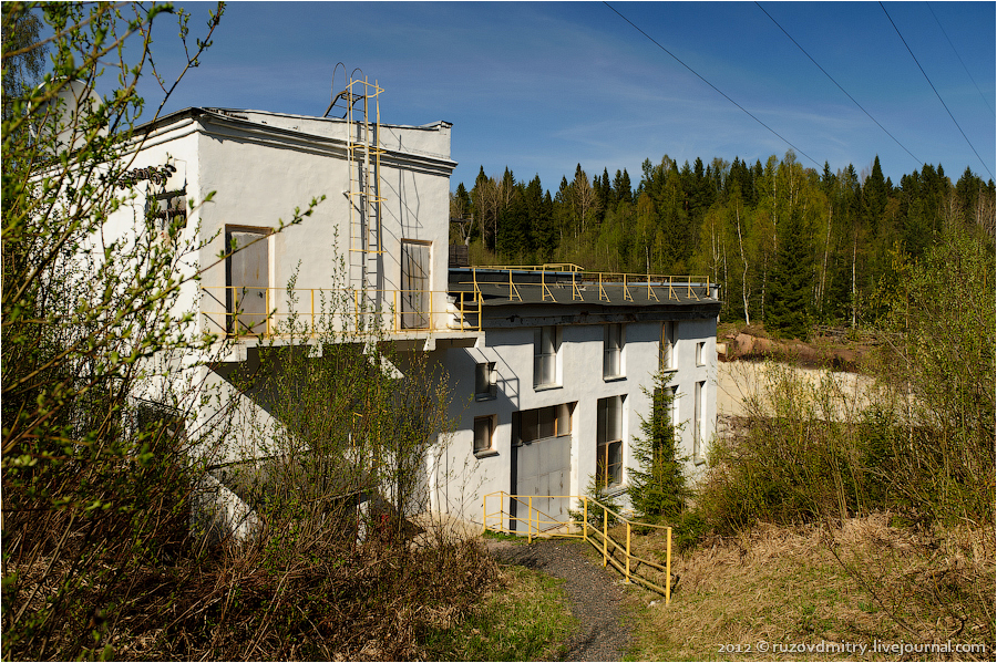 May 2012. Pieni-Joki hydroelectric power plant