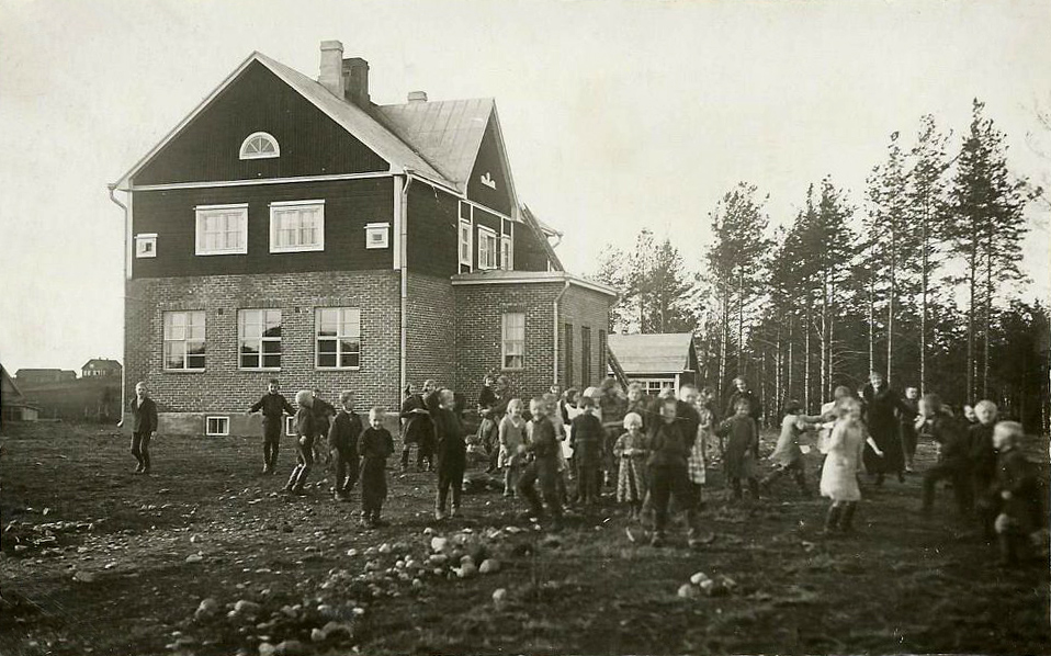 2 ноября 1934 года. Ряймяля. Народная школа