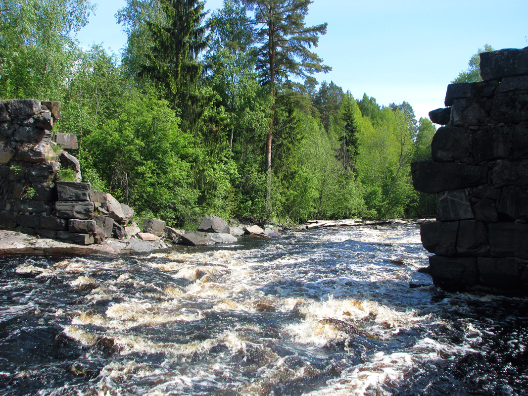 June 2008. Ylä-Uuksunkoski hydroelectric power plant