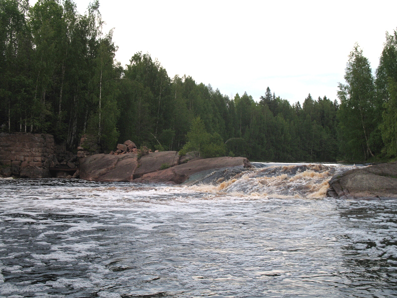 June 2007. Jukakoski hydroelectric power plant