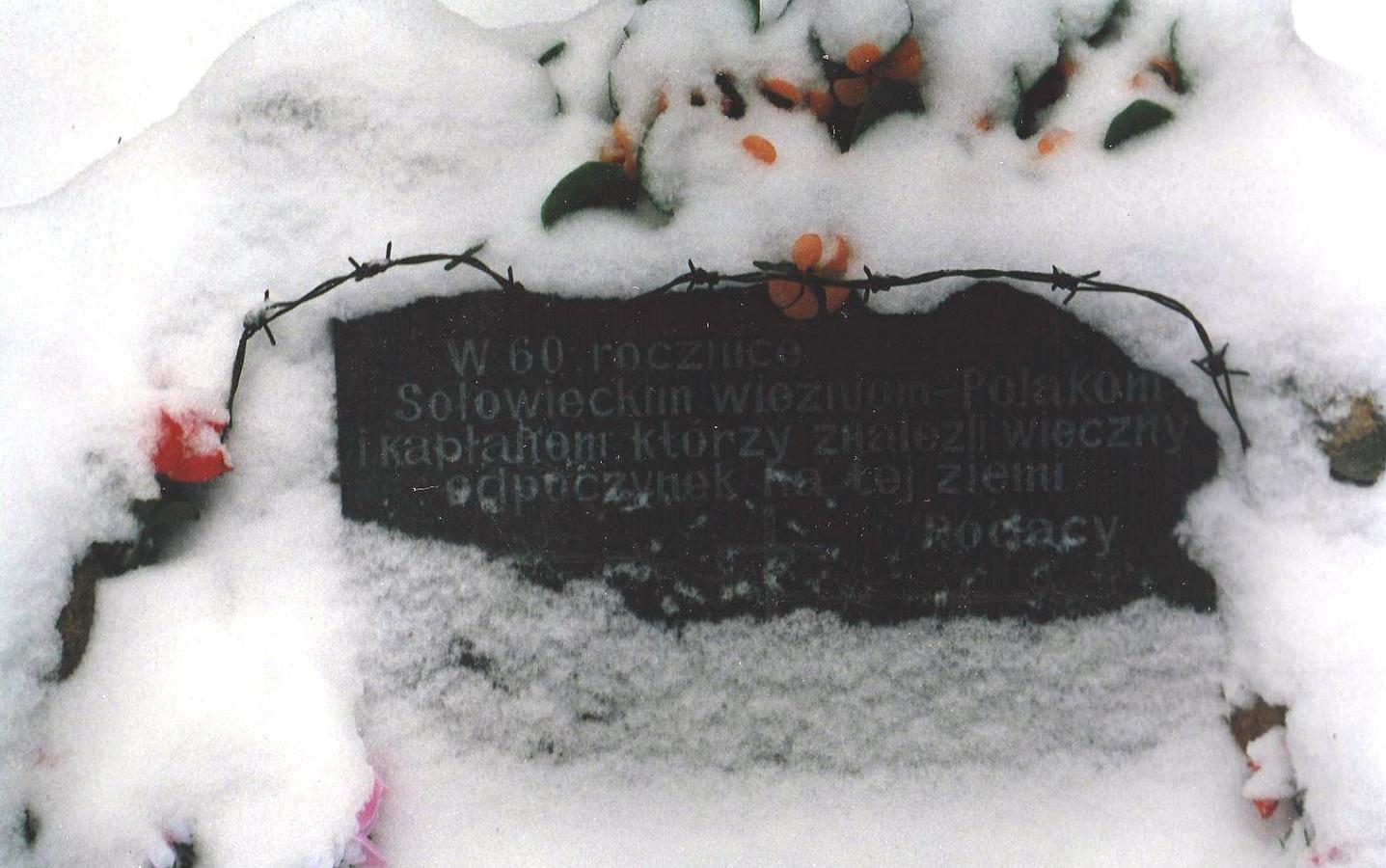 1997. Sandarmoh