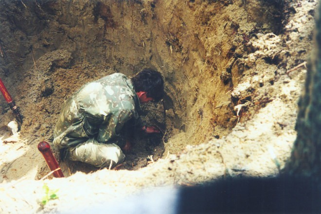 July 1, 1997. Sandarmoh