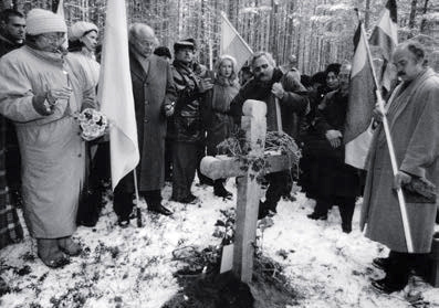 October 27, 1997. Opening of Sandarmoh Memorial Cemetery