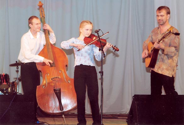 March 26, 2004. Playing at Paradigma folk fest