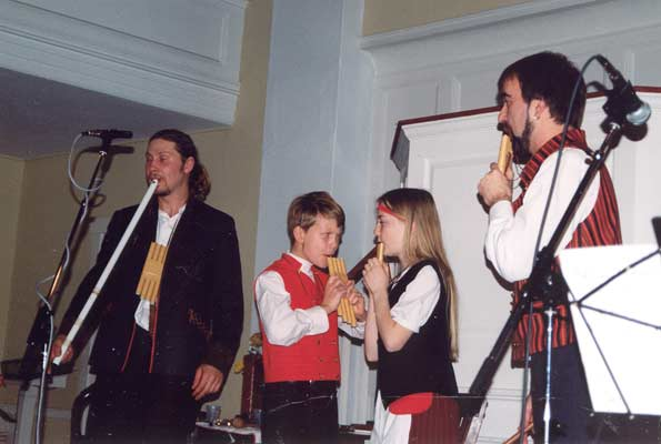 2003. Performing at school
