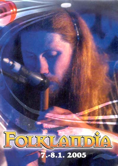 2005. Dima became the Face of Folklandia festival-2005 on its programme booklet