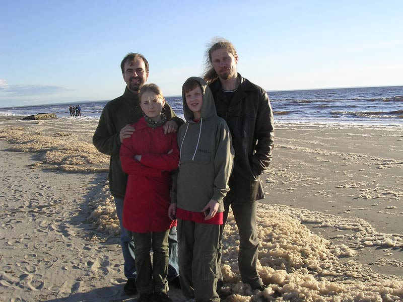 May 25, 2005. On the shore of the White Sea