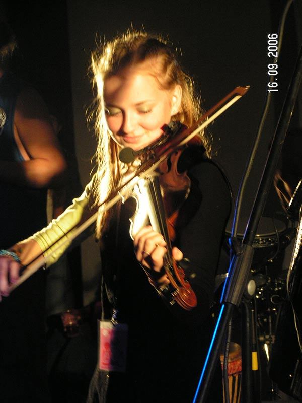 September 16, 2006. Playing at Carelian Faces Festival
