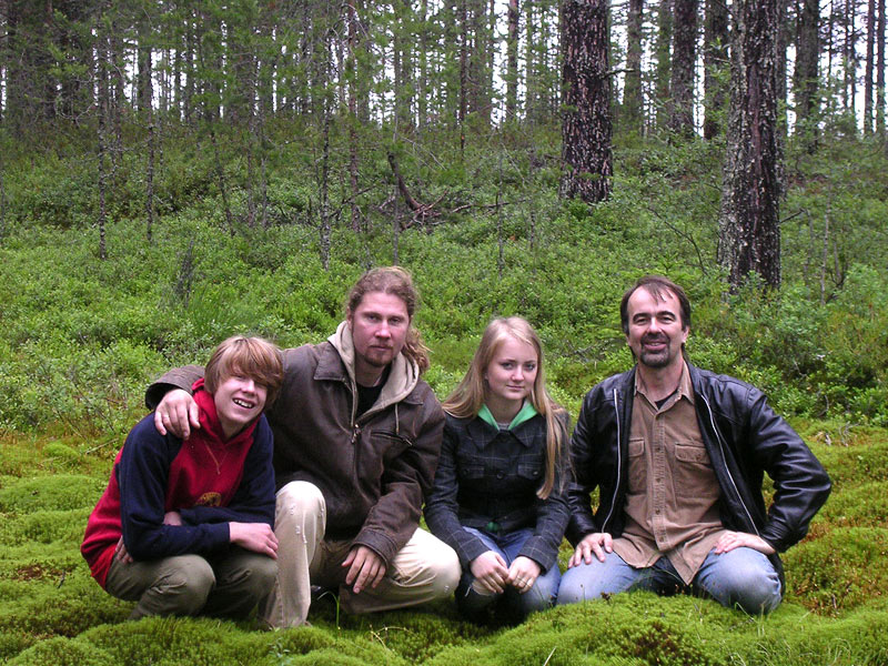 July 6, 2007. In the forest of Kalevala