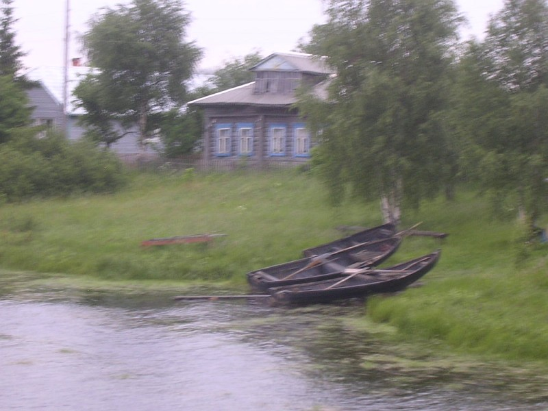 July 7, 2007. On the shore of Chirka-Kem River