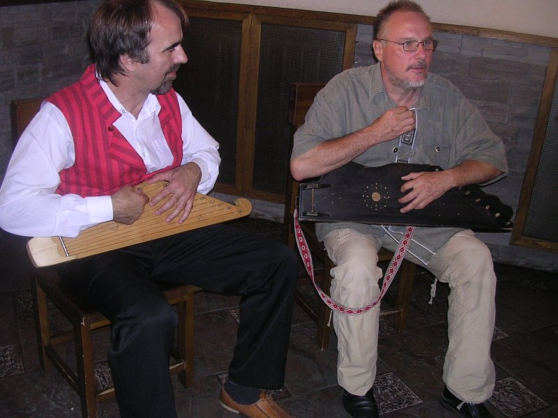 "September 2007. Famous Russian ethnomusicologist and musician Sergey Starostin invited Sattuma to his TV-programme about Russian folk instrument ""gusly"". Finnish-Karelian ""kantele"" is one of the closest gusly's relatives"