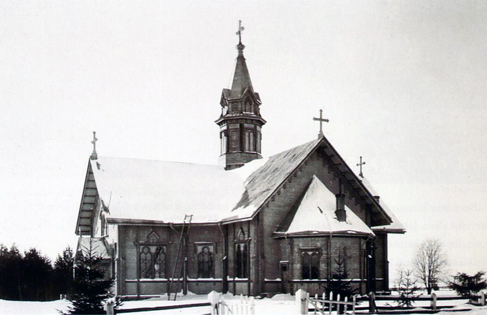 1927. Lutheran church