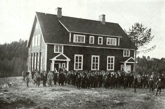 1930's. Kiekua. The school