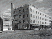 Late 1930's. Itä-Karjala Ltd. building with restaurants